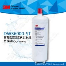 《3M淨水器》 DWS6000-ST智慧型雙效淨水系統替換濾心P-165BN軟水濾心★有效軟化硬水