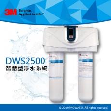 《3M淨水器》 DWS2500智慧型淨水系統(生飲淨水器)★過濾孔徑0.2微米★可除鉛